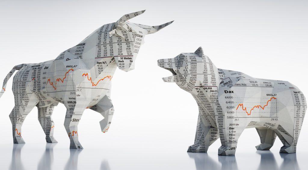 Wie Bulle und Bär zur Börse kamen.
